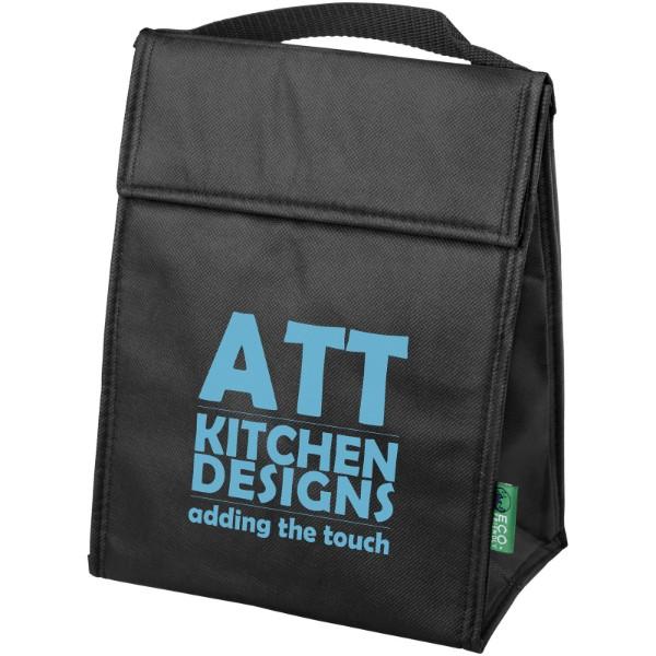 Triangle cooler bag - Solid black
