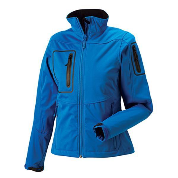 Casaco Sportshell 5000 Women 250G - 100% Poliéster - Azul Turquesa / XL
