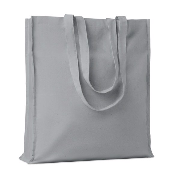 Cotton shopping bag 140 gr/m² Portobello - Grey
