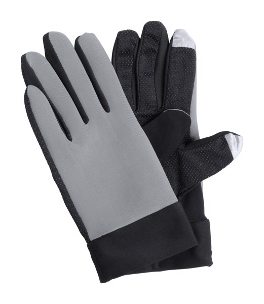 Touch Sport Gloves Vanzox - Grey / Black