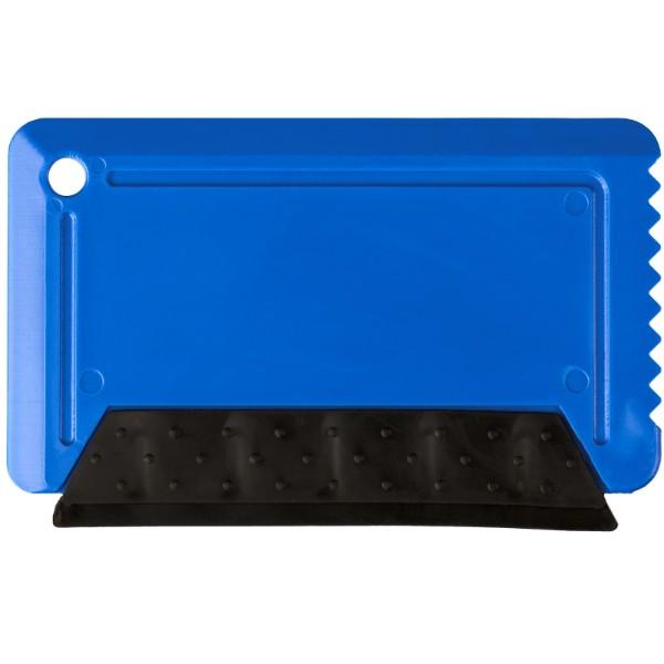 Škrabka na led s pryží Freeze o velikosti platební karty - Modrá