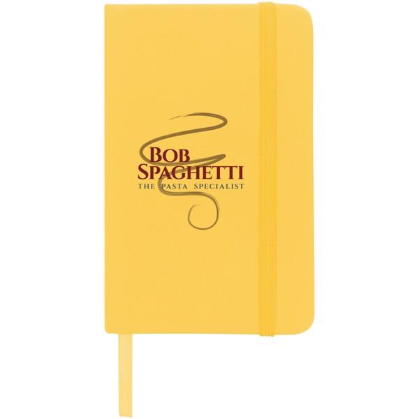 Zápisník s pevnou obálkou A6 Spectrum - Žlutá