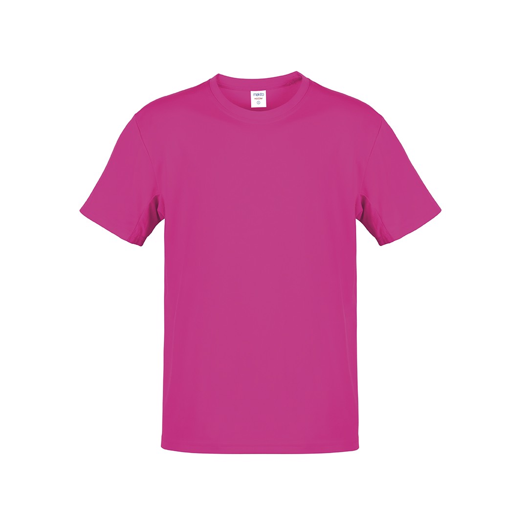 Camiseta Adulto Color Hecom - Fucsia / XL