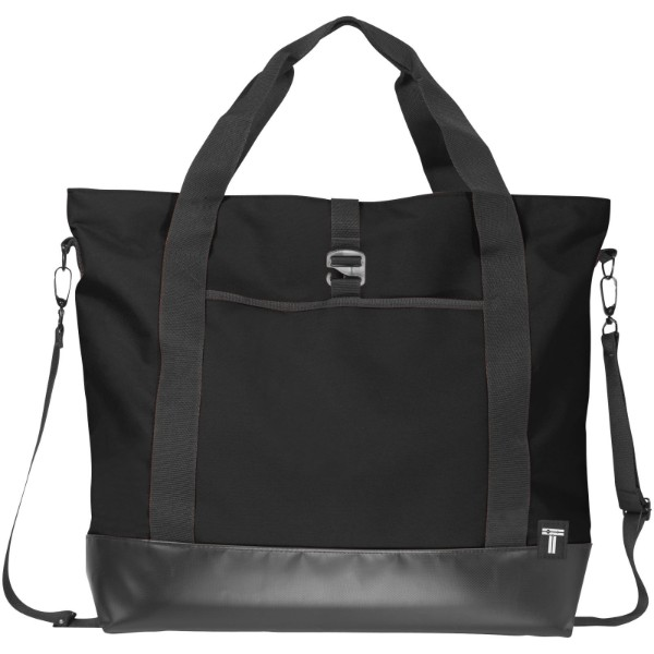 "Weekender 15"" laptop tote bag - Solid black"