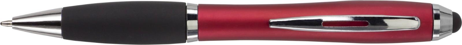Kugelschreiber 'Bristol' aus Kunststoff - Red