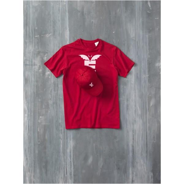 Heros short sleeve men's t-shirt - Red / S