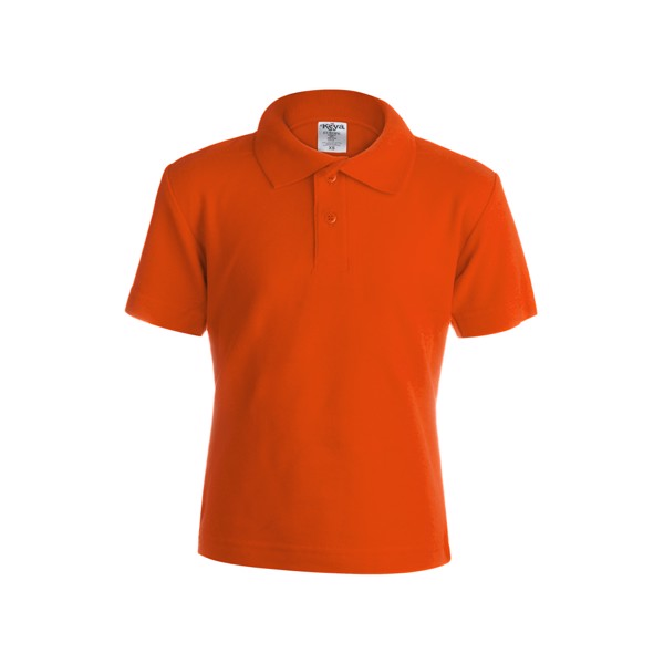"Polo Niño Color ""keya"" YPS180 - Naranja / XL"