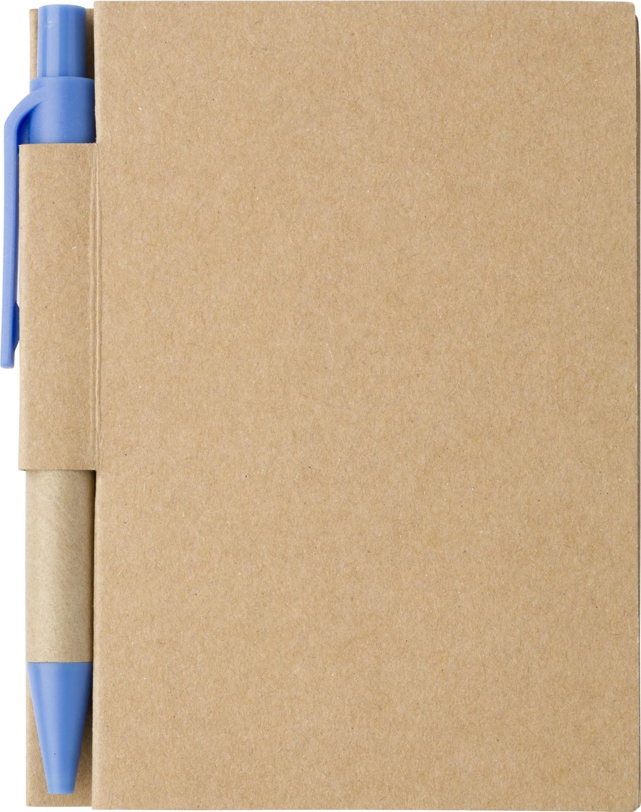 Paper notebook - Light Blue