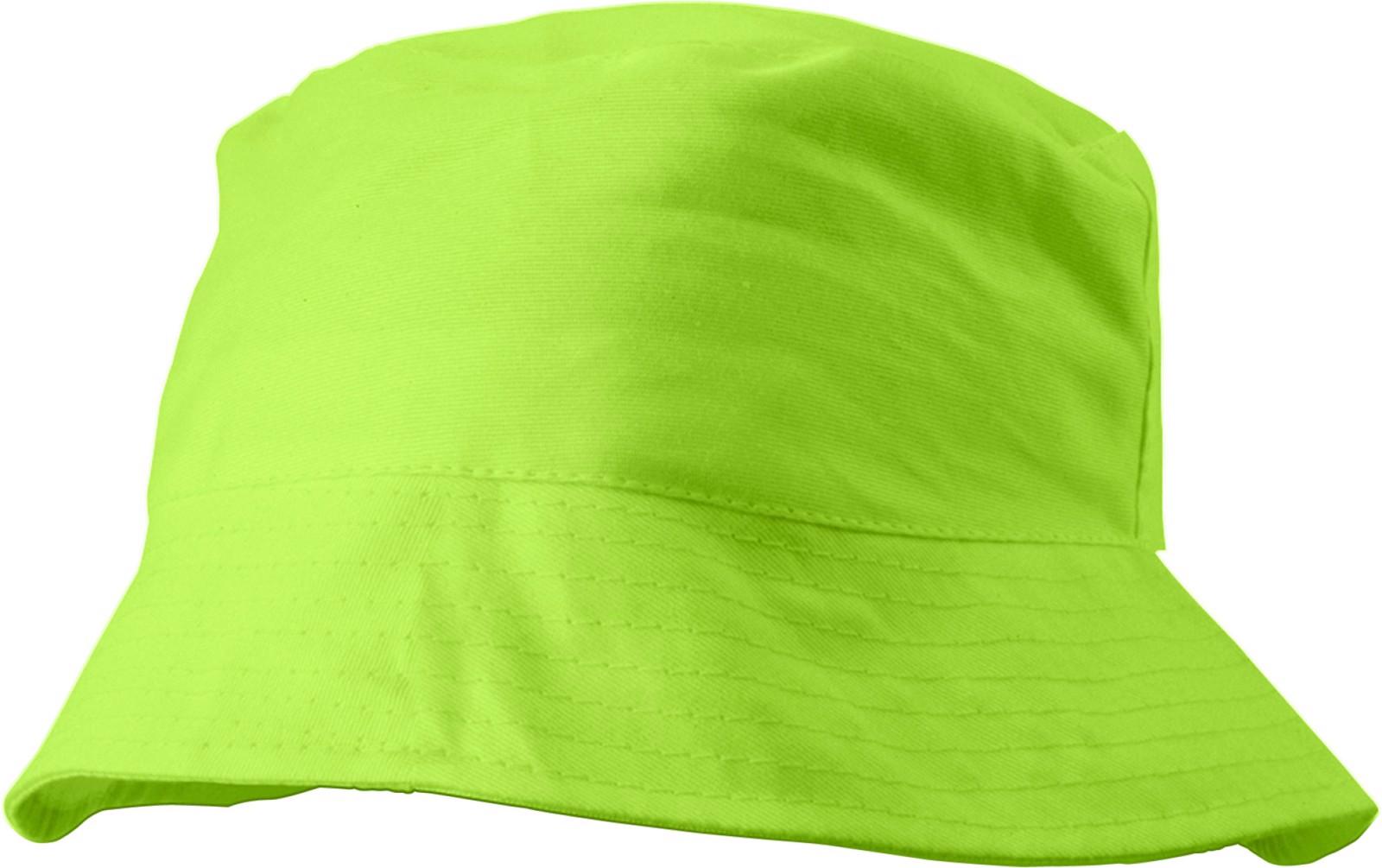 Cotton sun hat - Lime