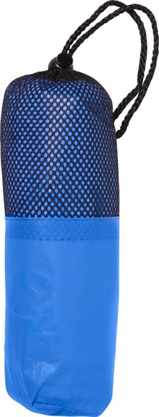 Poncho 'Dry' aus PEVA - Blue
