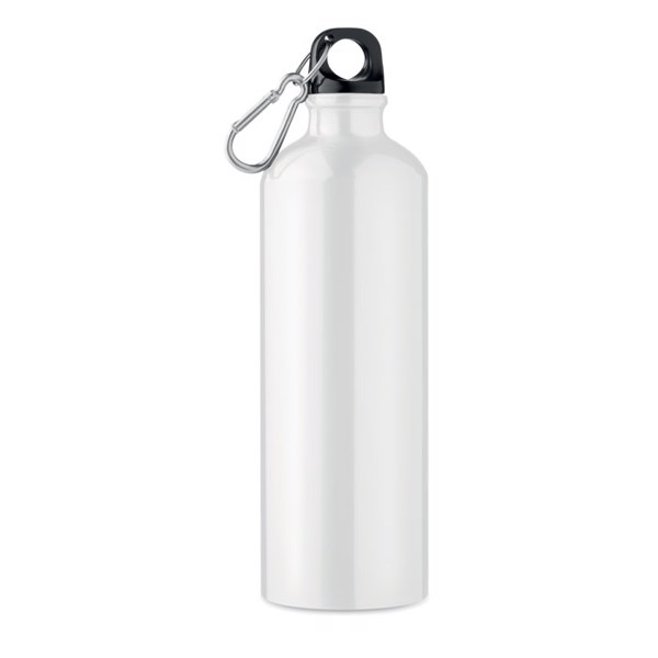 Aluminium bottle 750 ml Big Moss - White