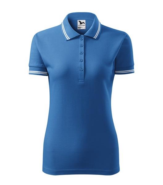 Polo Shirt Ladies Malfini Urban - Azure Blue / M