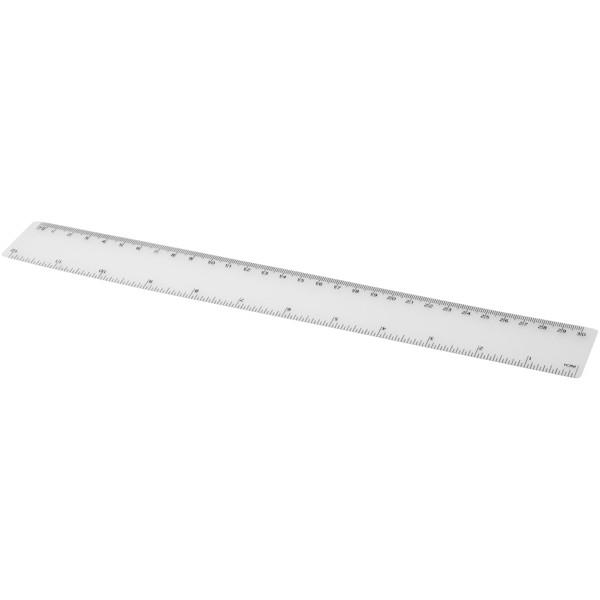 Rothko 30 cm plastic ruler - Transparent