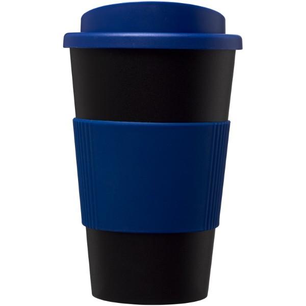 Termo hrnek s rukojetí Americano® 350 ml - Černá / Modrá
