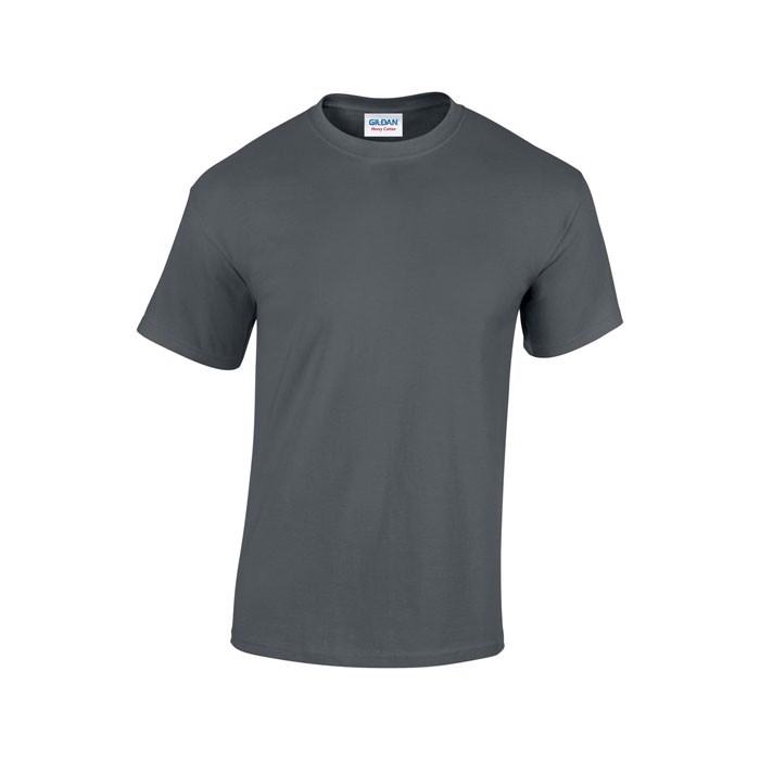 Tlusté tričko 185 g/m² Heavy T-Shirt 5000 - Charcoal / L