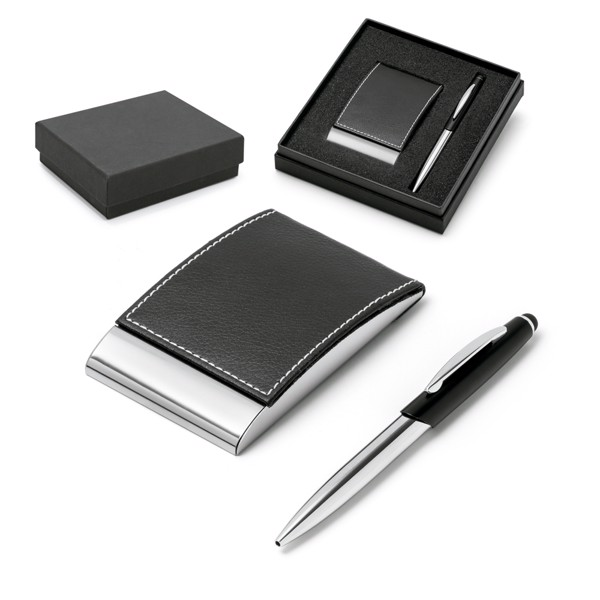 MURPHY. Ball pen and cardholder set