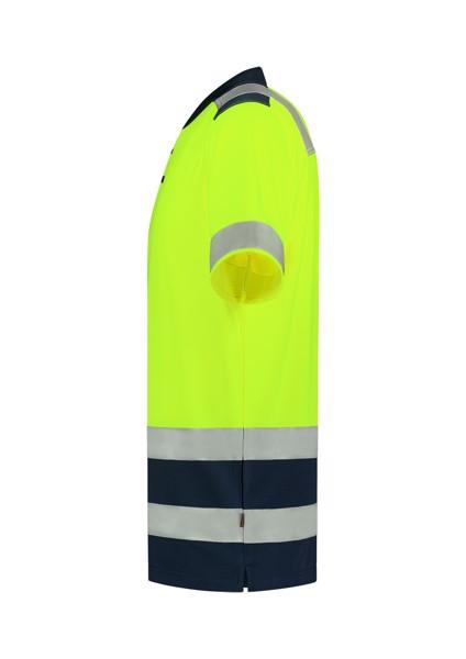 Polokošile unisex Tricorp Poloshirt High Vis Bicolor - Fluorescenční Žlutá / S