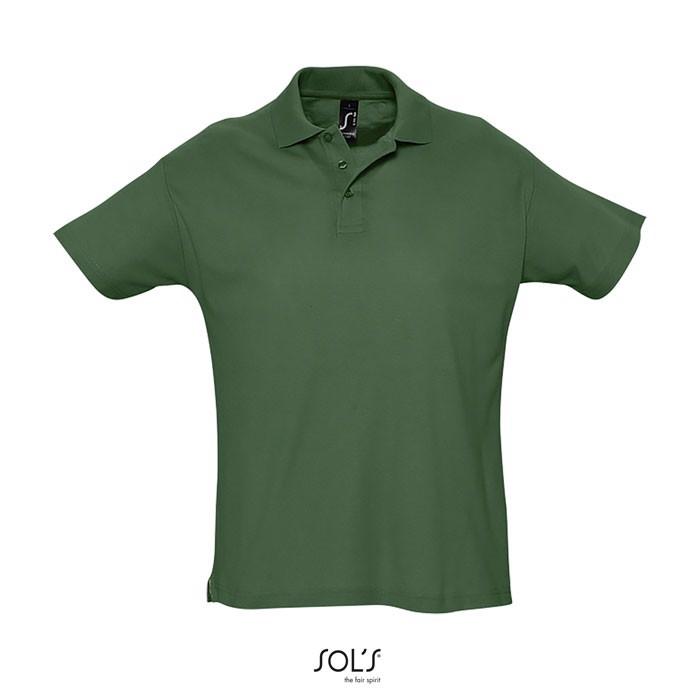 SUMMER II POLO HOMBRE 170g - verde golf / S