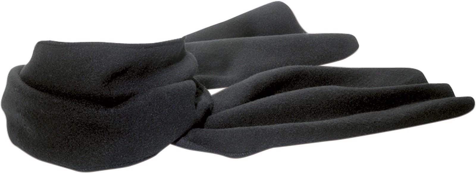 Polyester fleece (200 gr/m²) scarf - Black