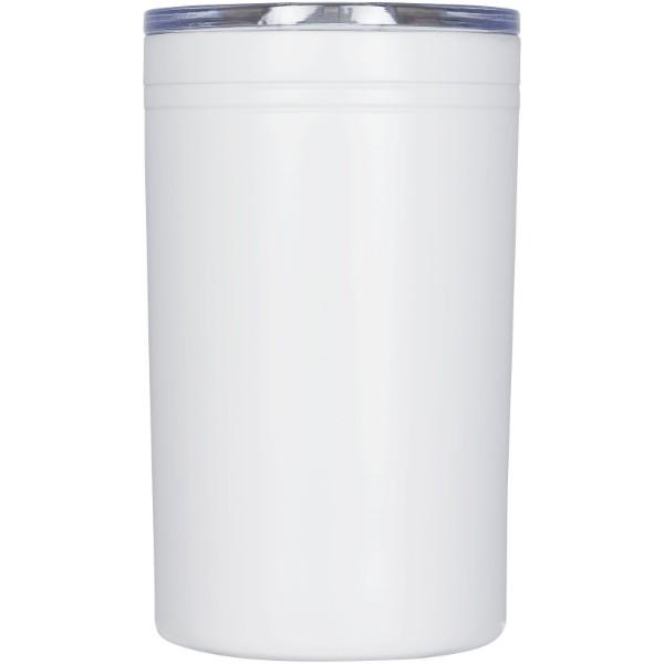 """Vaso de 330 ml con aislamiento al vacío de doble pared """"Pika"""" - Blanco"""