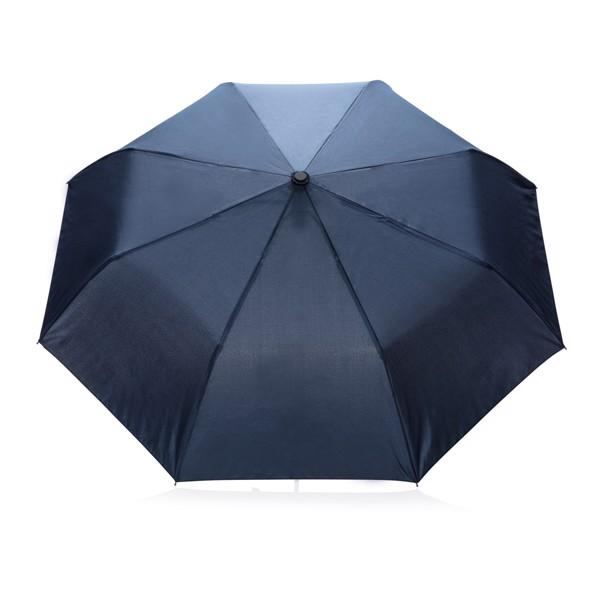 """21"""" skládací automatický deštník deluxe - Modrá"""