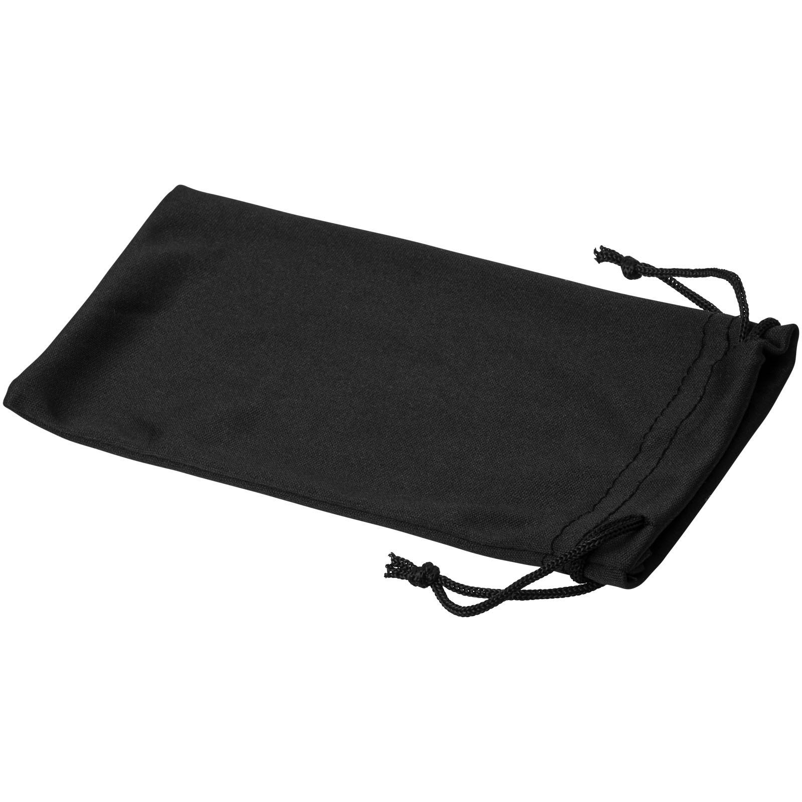 Clean sáček z mikrovláken na sluneční brýle - Černá