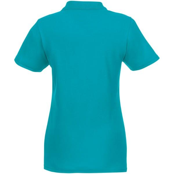 Helios short sleeve women's polo - Aqua / S