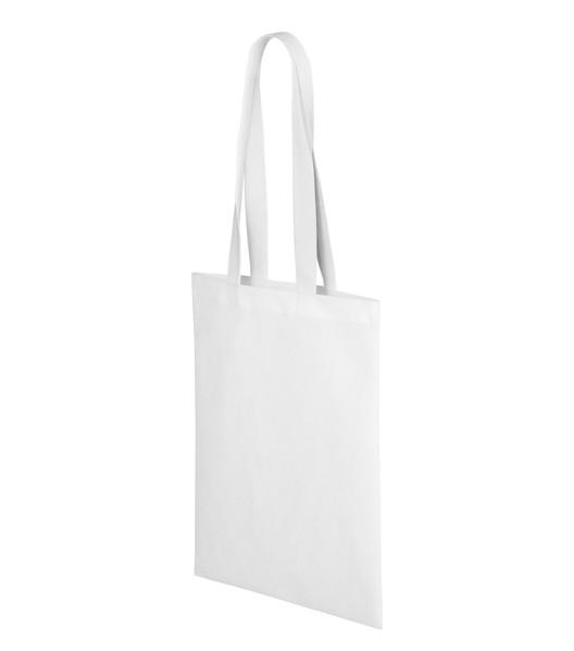 Nákupní taška unisex Piccolio Bubble - Bílá / uni