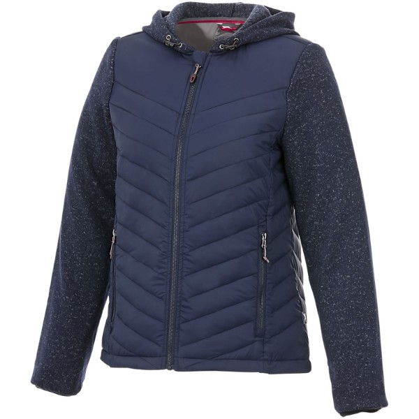 Hutch women's hybrid insulated jacket - Navy / XL