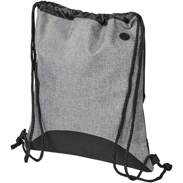 Street Rucksack mit Kordelzug - Grau