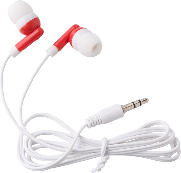 ABS earphones - White