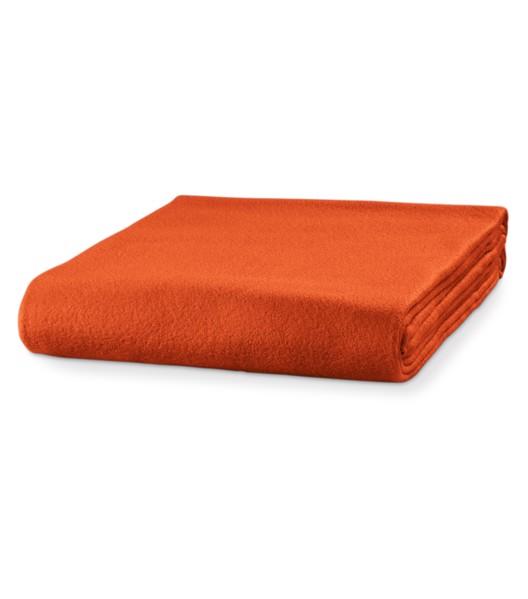 Fleecová deka unisex Piccolio Blanky - Oranžová / uni