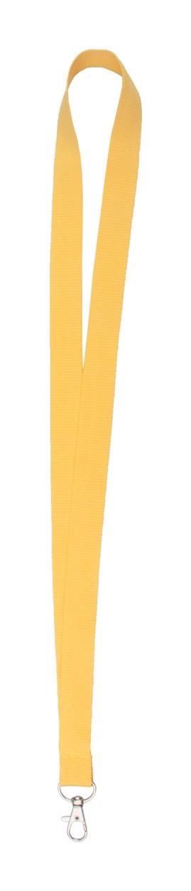 Lanyard Neck - Žlutá