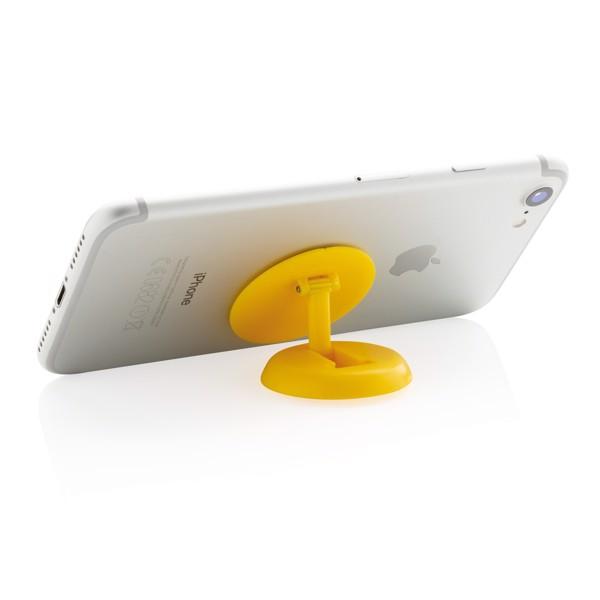 Stick 'n Hold držák a stojánek na telefon - Žlutá