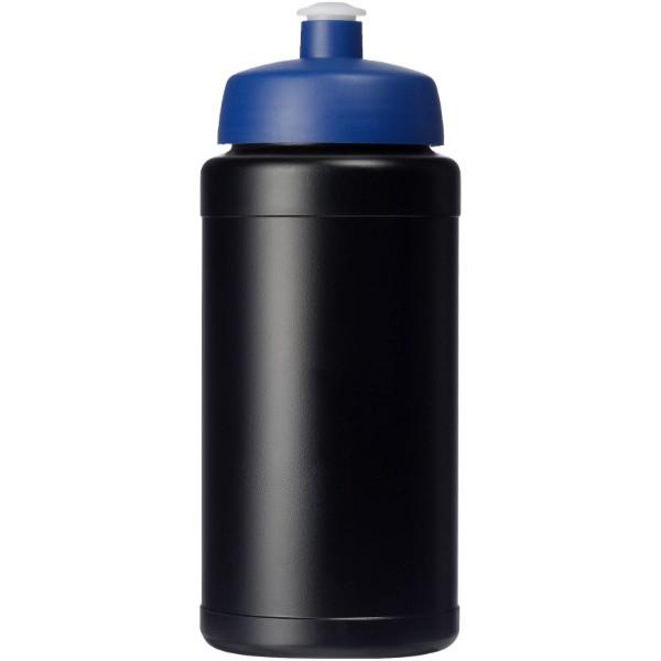 Baseline® Plus 500 ml lahev se sportovním víčkem - Černá / Modrá