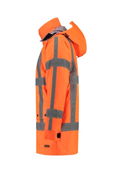 Pracovní bunda unisex Tricorp RWS Parka - Fluorescenční Oranžová / XL