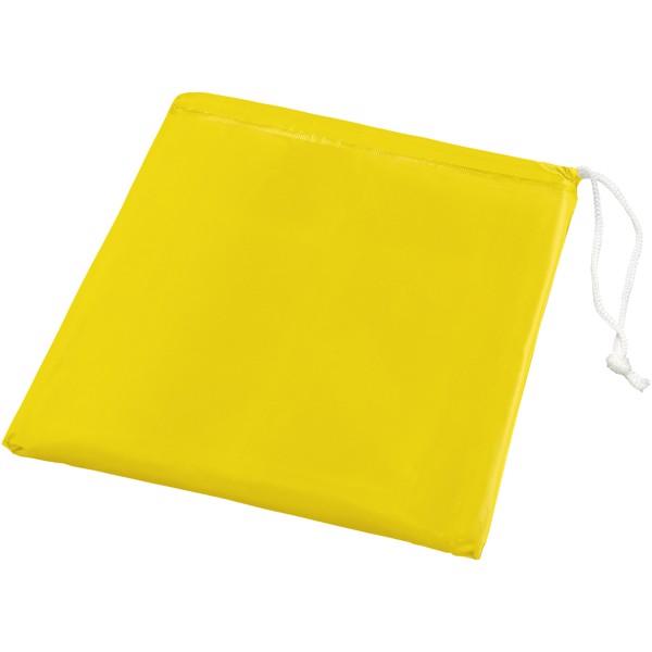 Składane ponczo Paulus w pokrowcu - Żółty