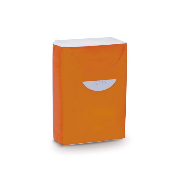 Tissues Custom - Orange