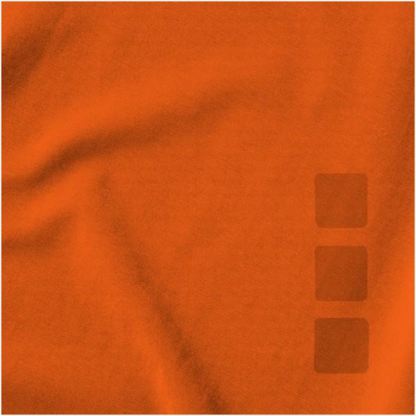 Pánské triko Kawartha s krátkým rukávem, organická bavlna - 0ranžová / XXL