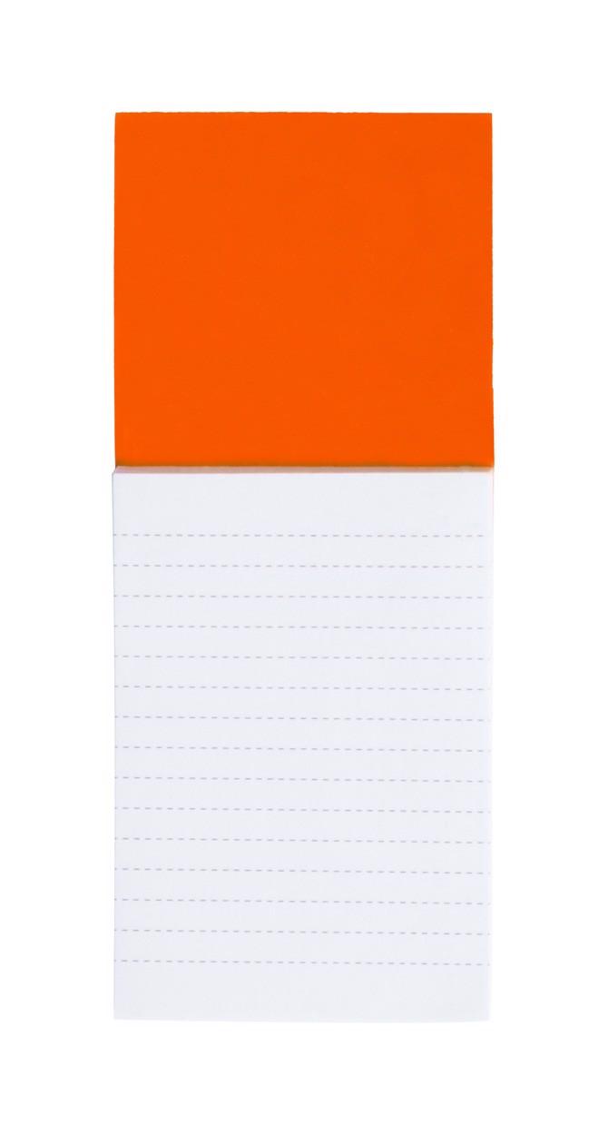 Blok S Magnetkou Sylox - Oranžová