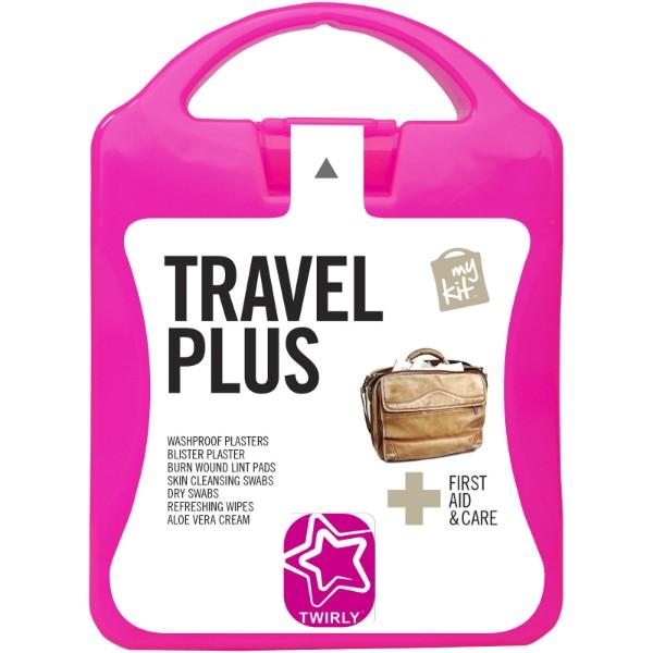 MyKit Travel Plus First Aid Kit - Magenta
