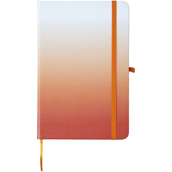 Gradient Hard Cover A5 Notizbuch - Orange