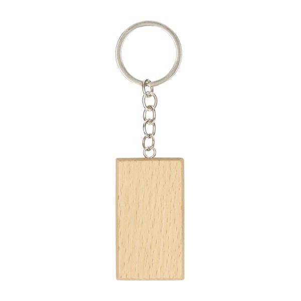 """Key Ring """"Natura"""", Square"""