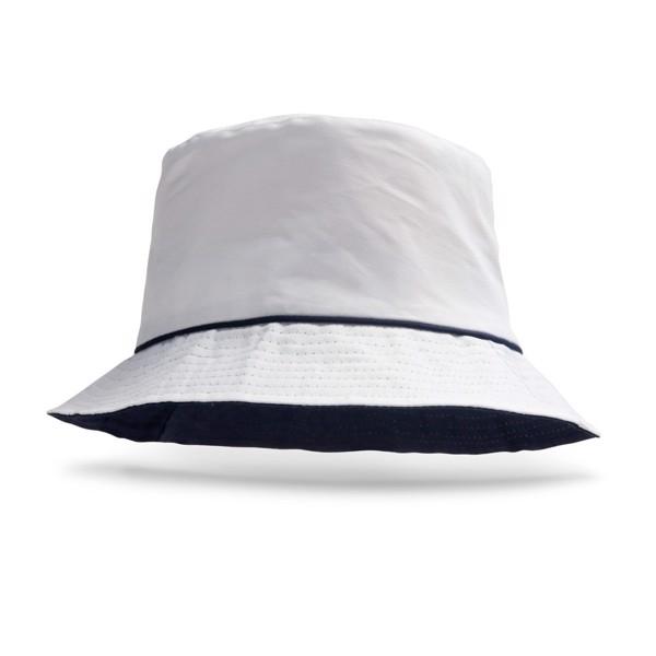 OLSEN. Rybářský klobouk - Bílá