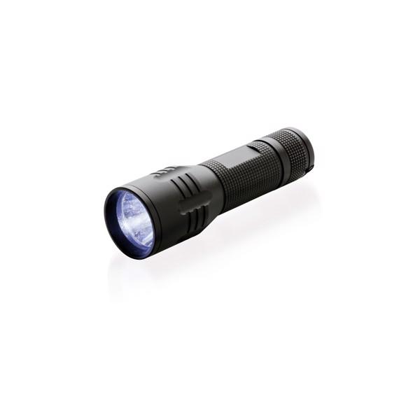 Střední CREE svítilna 3W - Černá