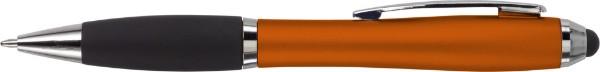 Kugelschreiber 'Bristol' aus Kunststoff - Orange
