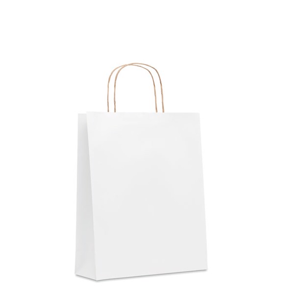 Medium Gift paper bag  90 gr/m² Paper Tone M - White
