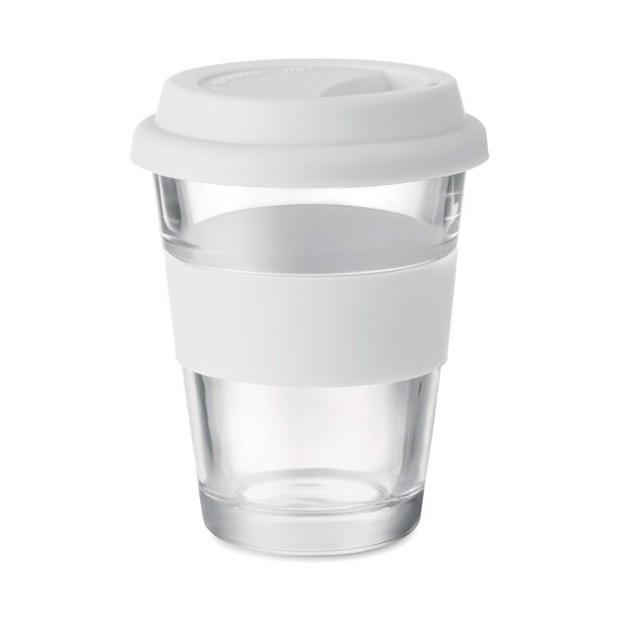 Glas Becher 350 ml Astoglass - weiß