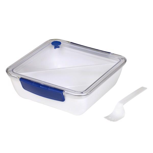 Obědová Krabička Delicious / Bílá / Modrá