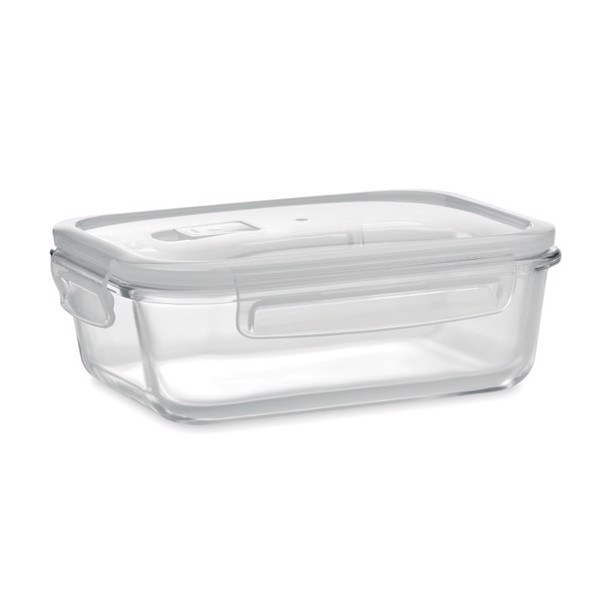 Glass lunchbox & PP lid 900ml Praga Lunchbox